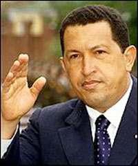 Chavez, Presidente de Venezuela