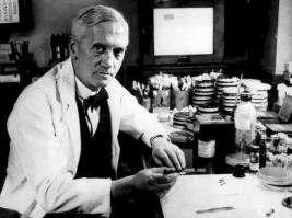 Fleming Alexander en el Laborarorio