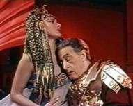 amor tragico de cleopatra y antonio