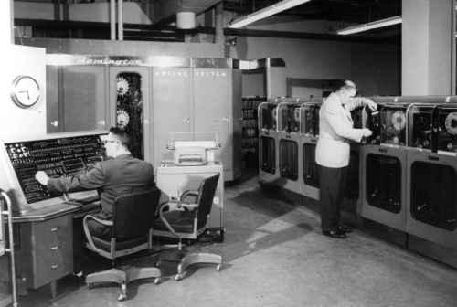 computadora de primera generacion 1950