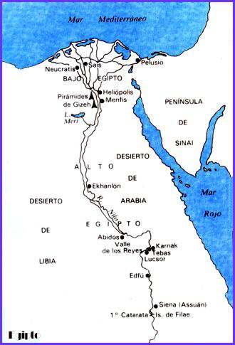 Historia de Egipto Antiguo La vida de los Egipcios Resumen