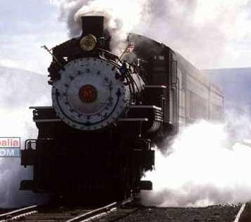 Historia del ferrocarril Maquina de vapor Stephenson Argentino Ferrocarril
