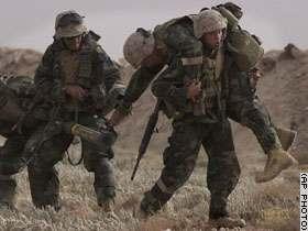 soldados de la guerra golfo