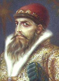 zar de rusia Ivan en terrible
