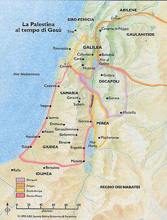 mapa palestina
