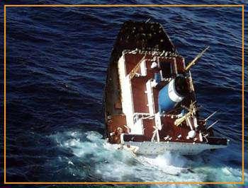La Tragedia del Prestige El derrame de petroleo en el océano