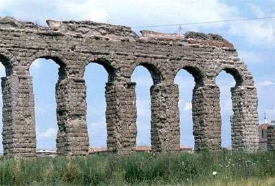 El primer acueducto de Roma fue el Aqua Appia