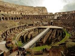 Interior del Coliseo de Roma