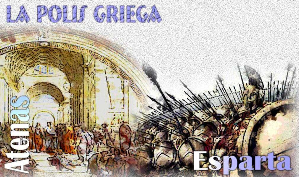 polis griega: atenas y esparta