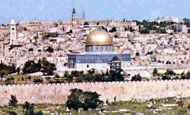 Jerusalen ciudad santa de tres religiones judaismo cristianismo islamismo