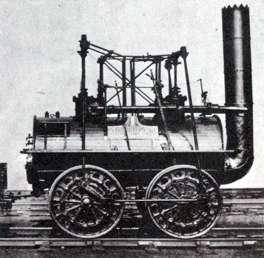 locomotora original a vapor de agia