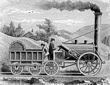 George Stephenson y el Ferrocarril-Características de las ...