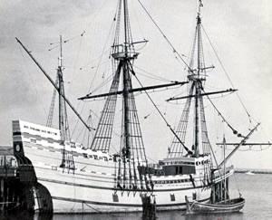 Los Padres Peregrinos en el Mayflower