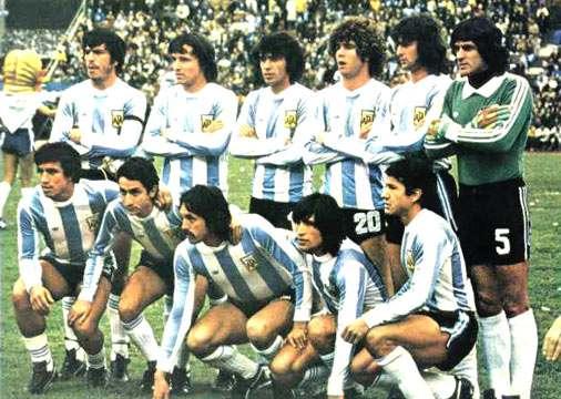 equipo de futbol campeon mundial 1978