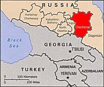 Conflicto En Chechenia