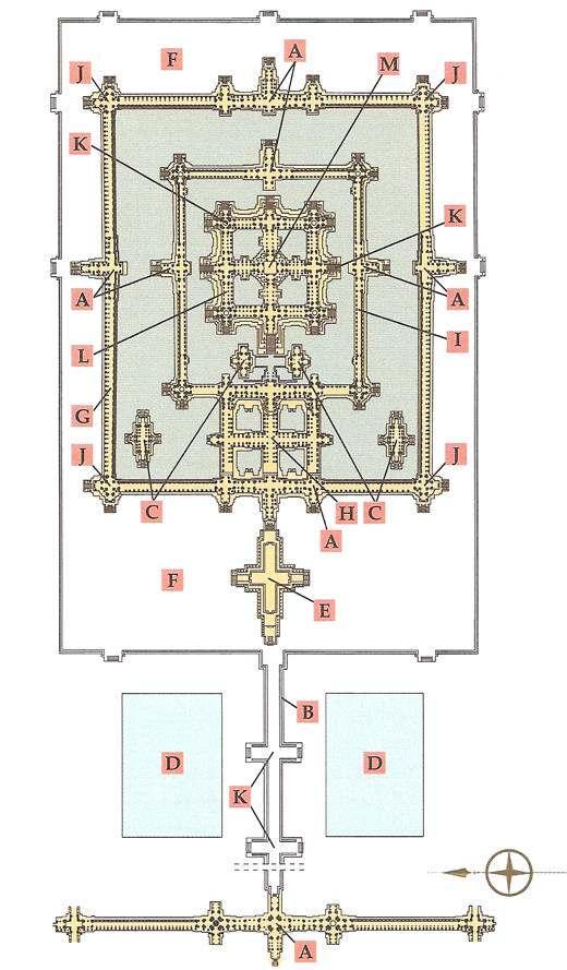plano de angkor