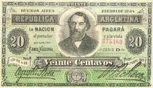 billete antiguo de argentina