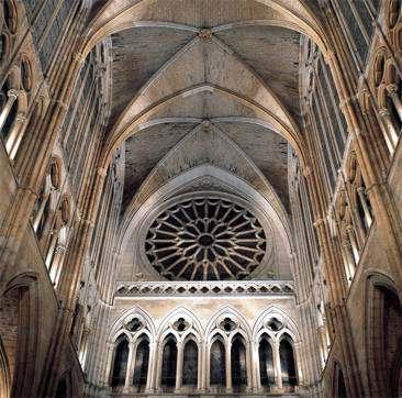 Catedral Gotica, Construccion