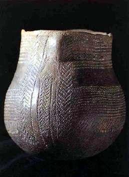 Vasija antigua de ceramica