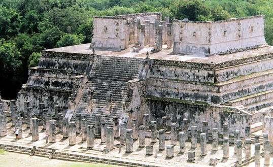 El Templo de las 1000 columnas