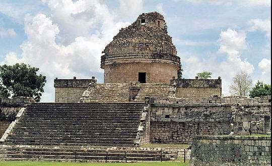 El Caracol - los mayas