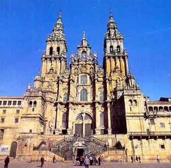 catedral de COMPOSTELA, peregrinaciones