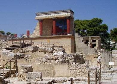 Palacio de Cronos en Creta