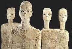 Estatuas de Ain Ghazal.