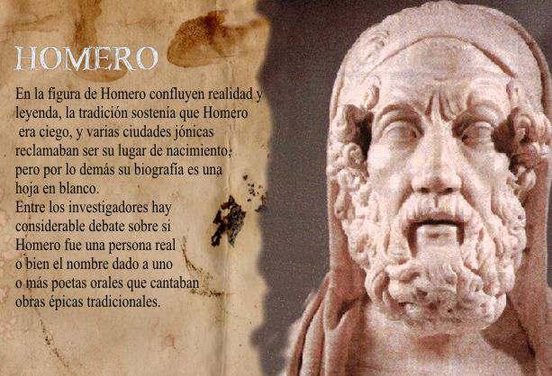 homero grecia antigua