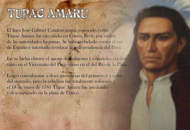Rebelión de Tupac Amaru - Historia de Gabriel Condorcanqui