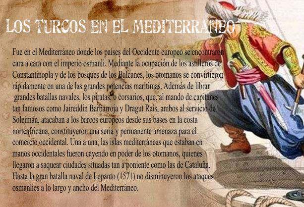 LOS TURCOS EN EL MEDITERRANEO