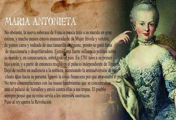 reina de francia maria antonieta