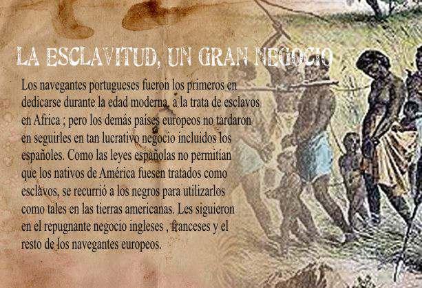 El Negocio de la Esclavitud