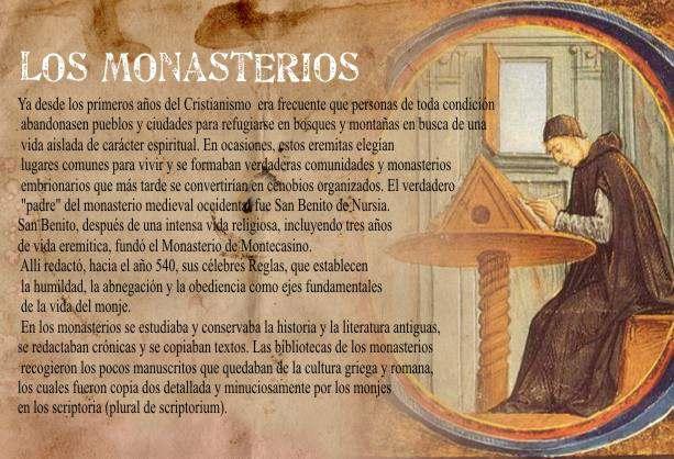 monjes traduciendo la biblia
