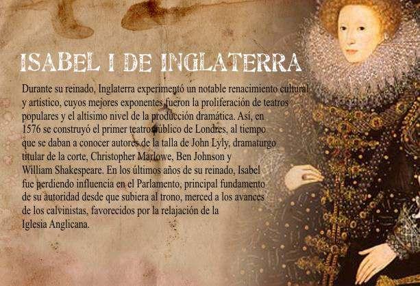 Lucha Reina Isabel I de Inglaterra contra el Catolicismo Religión