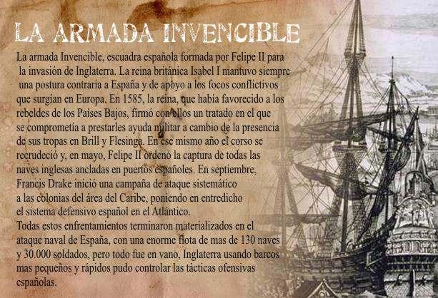 Felipe Ataca con su armada a Inglaterra