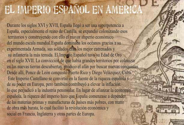 El Imperio Español en América - El Trabajo Forzado a los Aborigenes