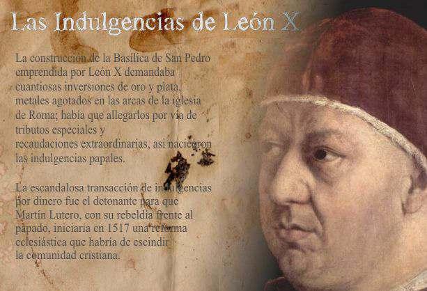 INDULGENCIAS León X