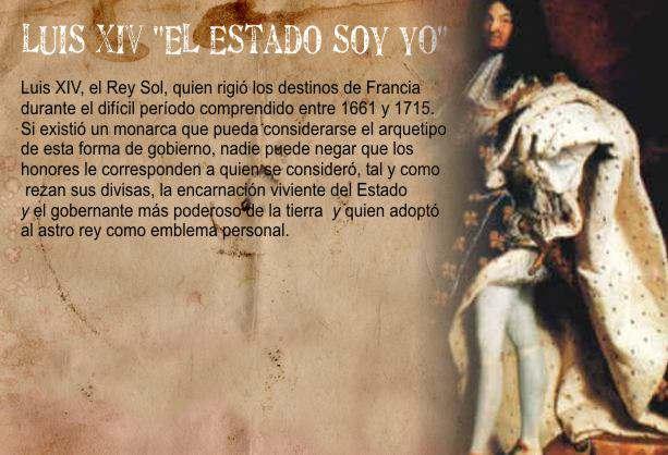 Poder Absoluto del Rey: Luis XIV
