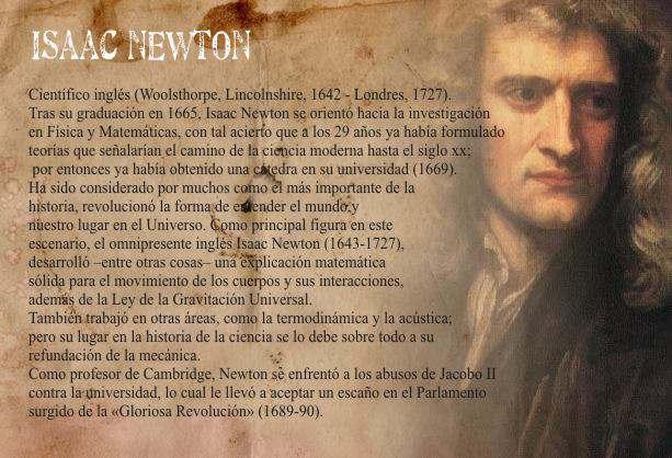 Newton y la Ley de Inercia