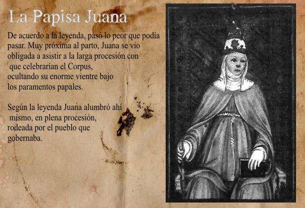 Papísa Juana, papa mujer