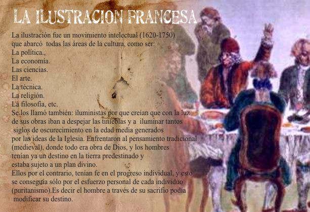 filosofos naturales de la Ilustracion Francesa