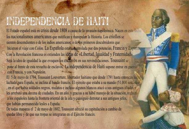 independencia de Haití, esclavos