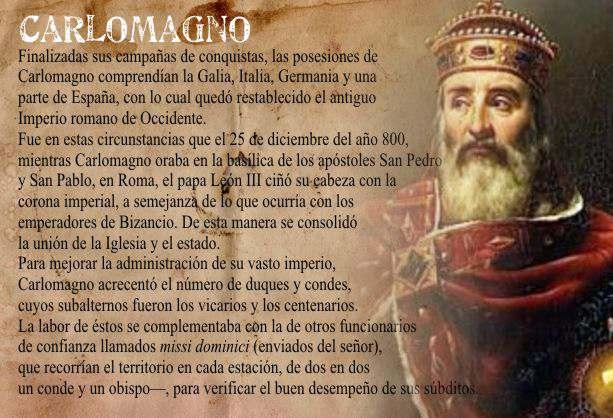 Rey Carlomagno