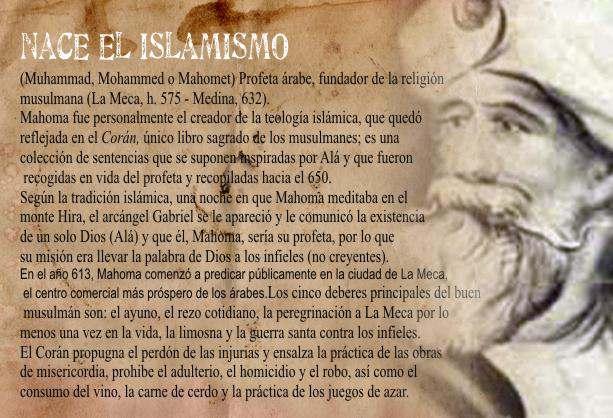 islamismo mahoma
