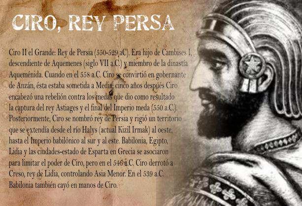 ciro, rey de persa