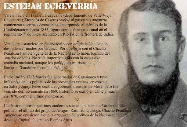Esteban Echeverria Biografia y Pensamiento Politico – BIOGRAFÍAS e ...