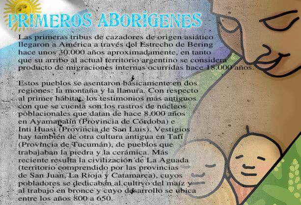 primeros aborigenes de argentina