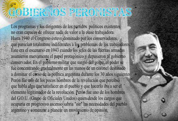 resumen de historia argentina