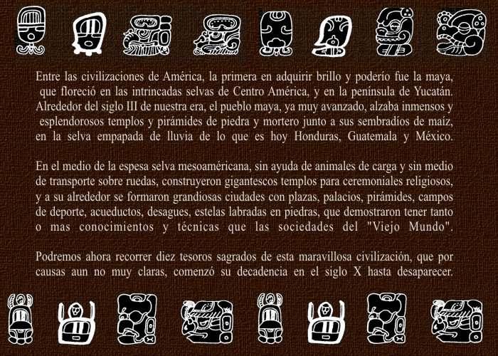 Ciudades Sagradas de los Mayas Culturas de Mesoamérica